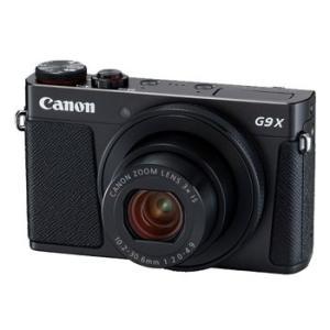 【あすつく】【選べる5年間延長保証対象(別料金)】キヤノン PowerShot G9 X Mark II ブラック|camera-saito