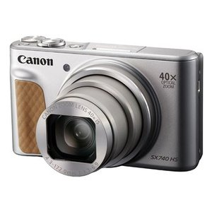 【あすつく】【選べる5年間延長保証対象(別料金)】キヤノン PowerShot SX740 HS シルバー|camera-saito