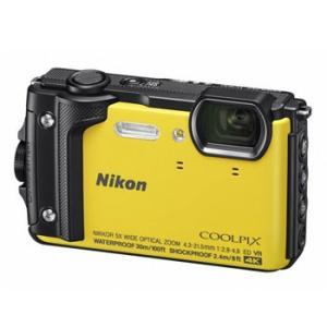 【あすつく】【選べる5年間延長保証対象(別料金)】ニコン COOLPIX W300 イエロー|camera-saito