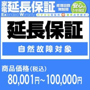 ワランティテクノロジー 5年間延長保証(自然故障対象)商品価格80,001円〜100,000円|camera-saito