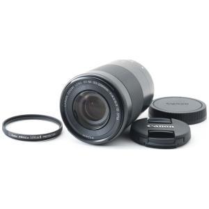 Canon キヤノン 望遠レンズ 中古 EF-M 55-200mm IS STM ブラック ミラーレ...