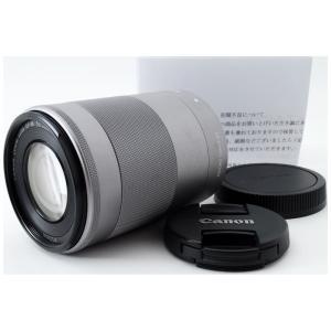 望遠レンズ Canon キヤノン 中古 EF-M 55-200mm IS STM シルバー ミラーレ...