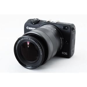 ミラーレス一眼 Canon キャノン EOS M2 ブラック レンズキット