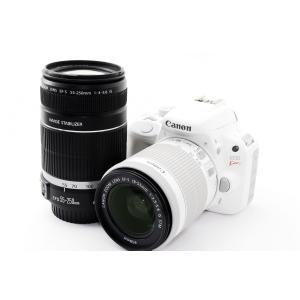 デジタル一眼レフカメラ 中古 Canon キャノン Kiss X7 ホワイト ダブルズーム