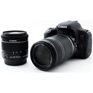 一眼レフカメラ 中古 Canon キヤノン EOS Kiss X9i ダブルズームセット