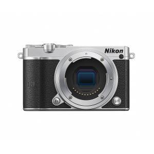 ミラーレス一眼 中古 Nikon ニコン J5 シルバー ボディ  中古品につき若干の使用感がござい...