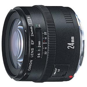 中古 Canon キャノン EF 24mm F2.8 フルサイズ対応  中古品につき使用感がございま...