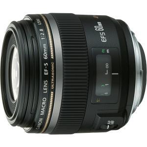 中古 Canon キヤノン EF-S 60mm F2.8マクロ USM  中古品につき若干の使用感が...