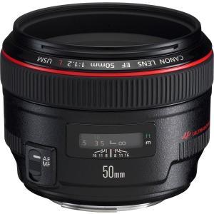 中古 Canon キヤノン EF 50mm F1.2L USMフルサイズ対応  中古品につき使用感が...