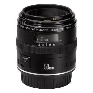 中古 Canon キヤノン 50mm F2.5 コンパクトマクロ フルサイズ対応  中古品につき使用...