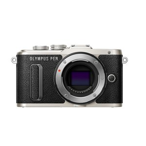 ミラーレス一眼 中古カメラ Olympus オリンパス PEN Lite E-PL8 ブラック ボデ...