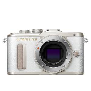 ミラーレス一眼 中古カメラ Olympus オリンパス PEN Lite E-PL8 ホワイト ボデ...