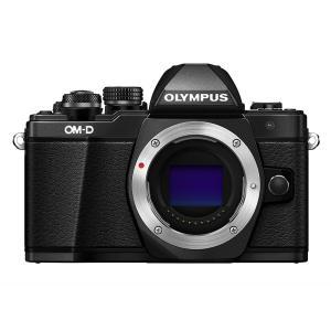 ミラーレス一眼 中古 Olympus オリンパス OM-D E-M10 Mark II ブラック ボ...