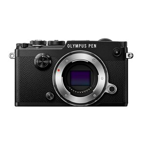ミラーレス一眼 中古カメラ Olympus オリンパス PEN-F ブラック ボディ  中古品につき...