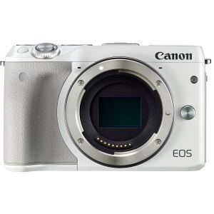 ミラーレス一眼 中古 Canon キヤノン EOS M3 ホワイト ボディ
