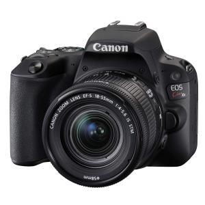 デジタルカメラ 中古 Canon キャノン EOS Kiss X9 ブラック 18-55mm IS ...