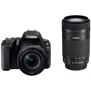 デジタルカメラ 中古 Canon キャノン EOS Kiss X9 ブラック ダブルズームキット  ...