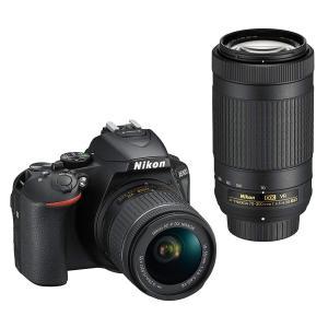 一眼レフ 中古 Nikon ニコン D5600 ブラック ダブルズームキット