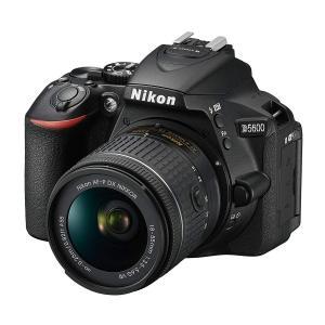 一眼レフ 中古 Nikon ニコン D5600 ブラック 18-55mm VR レンズキット