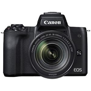 ミラーレス 中古 Canon キャノン EOS Kiss M ブラック 18-150mm IS ST...