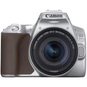 一眼レフカメラ 中古 Canon キヤノン EOS Kiss X10 シルバー レンズキット 中古品...