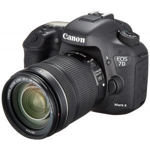 デジタル一眼レフ 中古 Canon キャノン EOS 7D Mark II 18-135mm IS ...