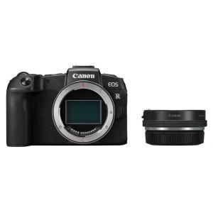 ミラーレス 中古 Canon キャノン EOS RP ブラック コントロールリング マウントアダプタ...