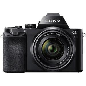 ミラーレス一眼カメラ フルサイズ 中古 Sony ソニー α7 ズームレンズキット ILCE-7K ...