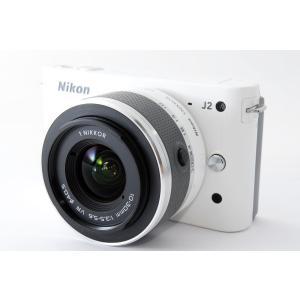 ミラーレス一眼 中古 Nikon ニコン J2 ホワイト レンズキット SDカード付き 安心保証