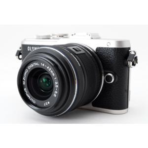 ミラーレス一眼 中古 Olympus オリンパス E-PL8 ブラック レンズセット SDカード付き