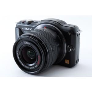 ミラーレス一眼 中古 LUMIX ルミックス GF5 ブラック レンズキット SDカード付き