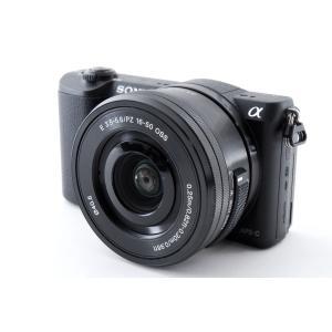 ミラーレス一眼カメラ Sony ソニー α5100 ブラック レンズキット SDカード付き