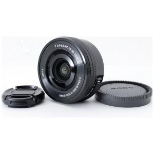 標準ズームレンズ Sony ソニー 中古 E 16-50mm F3.5-5.6 OSS ブラック パ...