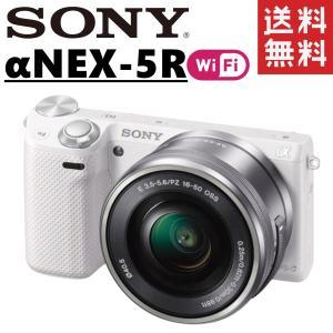 ソニー SONY α NEX-5R レンズセット Wi-Fi搭載 ミラーレス一眼レフ 新品SDカード...