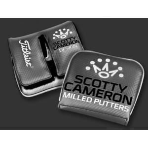 スコッティキャメロン パターカバー ALL GREY FUTURA X ストレートネック用 (Scotty Cameron / ヘッドカバー / オールグレイ)|cameron-himawari