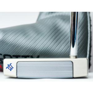 スコッティキャメロン カスタムパター ニューポートM1 Lucky HONU Custom with 15g ウェイト (トランスルーセントブルー / 34インチ)|cameron-himawari
