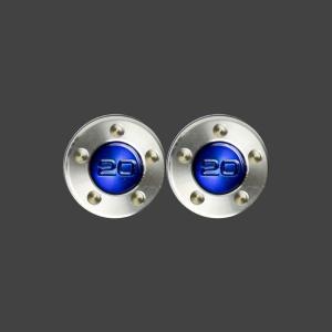 スコッティキャメロン パター用 ウェイト 20g (ブルー) 2個 (1セット)|cameron-himawari
