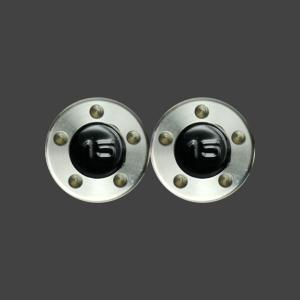 スコッティキャメロン パター用 ウェイト 15g (ブラック) 2個 (1セット)|cameron-himawari
