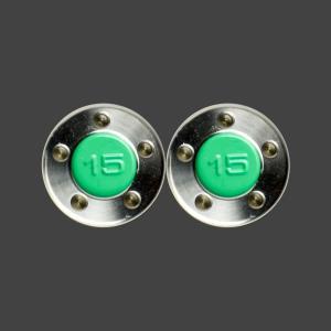 スコッティキャメロン パター用 ウェイト 15g [グリーン] 2個 (1セット)|cameron-himawari