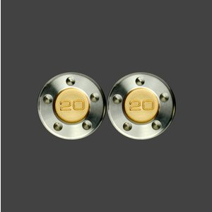 スコッティキャメロン パター用 ウェイト 20g (ゴールド) 2個 (1セット)|cameron-himawari