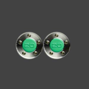 スコッティキャメロン パター用 ウェイト 20g (グリーン) 2個 (1セット)|cameron-himawari