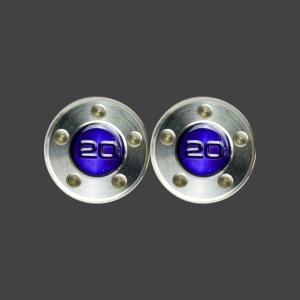 スコッティキャメロン パター用 ウェイト 20g (パープル) 2個 (1セット)|cameron-himawari