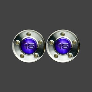 スコッティキャメロン パター用 ウェイト 15g [パープル] 2個 (1セット)|cameron-himawari