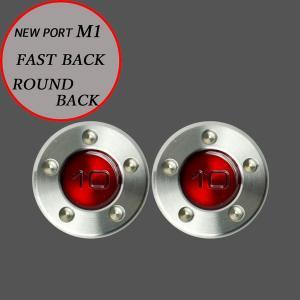スコッティキャメロン パター用 M1 FastBack用 ウェイト 10g (レッド) 2個 (1セット)|cameron-himawari
