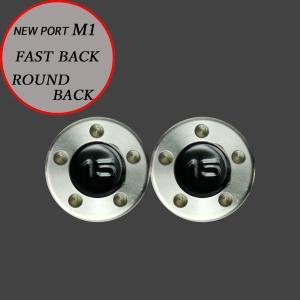 スコッティキャメロン パター用 M1 FastBack用 ウェイト 15g [ブラック] 2個 (1セット)|cameron-himawari