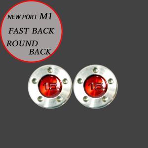 スコッティキャメロン パター用 M1 FastBack用 ウェイト 15g (レッド) 2個 (1セット)|cameron-himawari