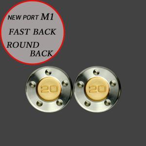 スコッティキャメロン パター用 M1 FastBack用 ウェイト 20g (ゴールド) 2個 (1セット)|cameron-himawari