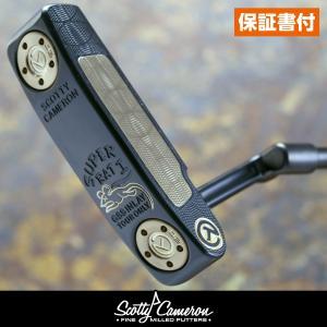 スコッティキャメロン ツアーパター Super Rat 1 Tour Black Finish with a Chromatic Bronze inlay|cameron-himawari