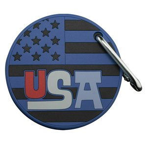 パッティング練習が出来るラバー製のパッティングディスクです。 星条旗を基にしたデザインで、片面に「S...