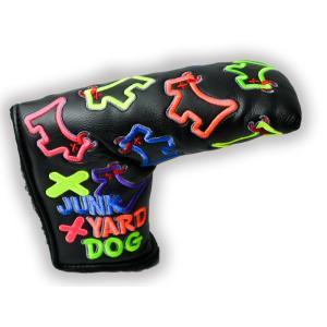スコッティキャメロン DANCING MIXED NEON JUNK YARD DOG ヘッドカバー|cameron-himawari